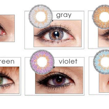 a40ab79efac NEO Vision Glamour Grey circle lens - colored contact lenses
