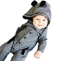 Baby romper clothes Toddler Baby Boys Long Sleeve