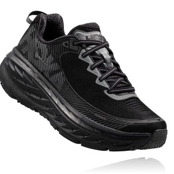Hoka Bondi 5 Womens-Black