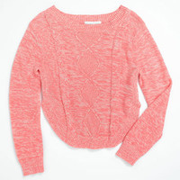 Roxy 'Reach Out' Sweater (Big Girls) | Nordstrom