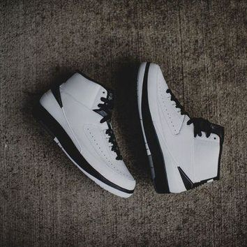 Air Jordan 2 Retro BG 'Wing It' Basketball Shoes <>