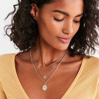 8 Other Reasons Emma Layering Necklace Set | Urban Outfitters
