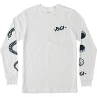Moons Long Sleeve T-Shirt | RVCA