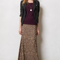 Taiz Maxi Skirt by Cecilia Prado Gold S P Skirts