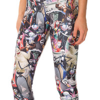 The Nightmare Before Christmas Print Legging