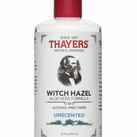 Thayers Alcohol-Free Unscented Witch Hazel Toner - Thayers Natural Remedies