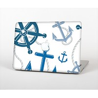 The Nautical Anchor Collage Skin Set for the Apple MacBook Air 11""