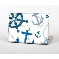 "The Nautical Anchor Collage Skin Set for the Apple MacBook Pro 13"" with Retina Display"