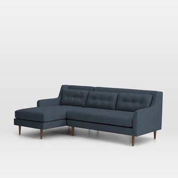 Crosby 2-Piece Chaise Sectional