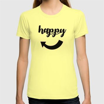 happy T-shirt by Stay Inspired