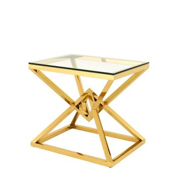 Gold Side Table | Eichholtz Connor