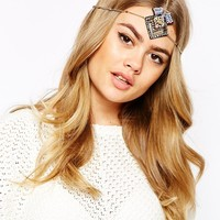 River Island Ethnic Beaded Crown