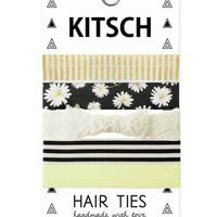 Kitsch Daisy Darling Hair Ties