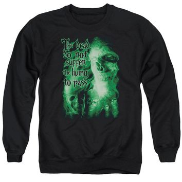 Lor - King Of The Dead Adult Crewneck Sweatshirt Officially Licensed Apparel