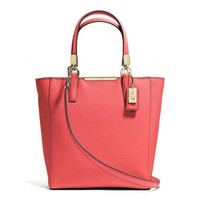 MADISON MINI NORTH/SOUTH TOTE IN SAFFIANO LEATHER