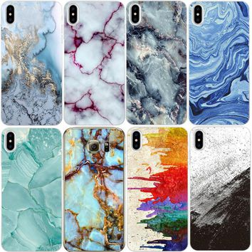 Marble Image Silicon Phone Cases