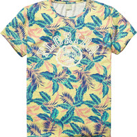 Allover printed tee - Scotch & Soda