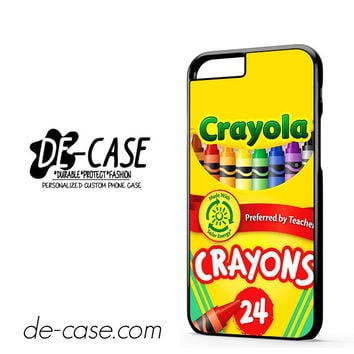 Crayola Crayons Colorful DEAL-2841 Apple Phonecase Cover For Iphone 6 / 6S