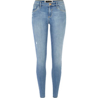 River Island Womens Light wash Amelie reform superskinny jeans