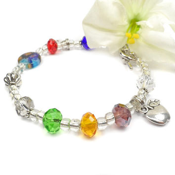 Teachers Poem Bracelet