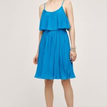 HD in Paris Tiered Cenote Dress in Turquoise Size: