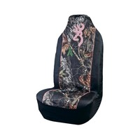 Browning Buckmark Mossy Oak Camo and Pink Pullover Seat Cover