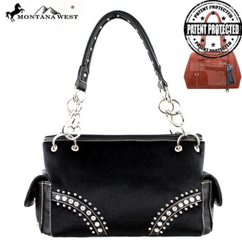 Montana West MW194G-8085 Concealed Carry Handbag