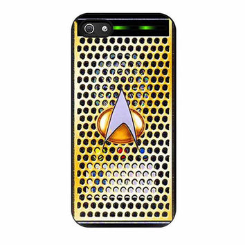 geek retro star trek communicator cases for iphone se 5 5s 5c 4 4s 6 6s plus
