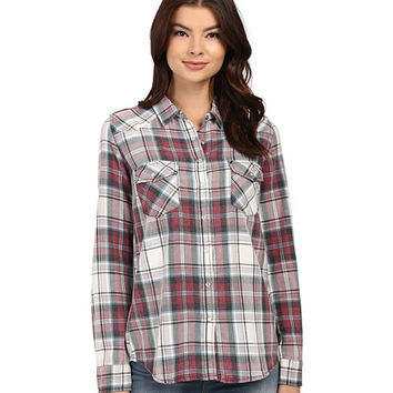 Brigitte Bailey Tania Plaid Shirt