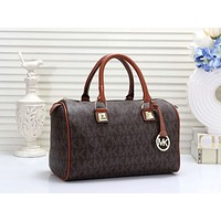 MK Women Leather Multicolor Luggage Travel Bags Tote Handbag