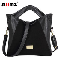 Women famous brand bags Genuine Leather handBags vintage messenger bag High capacity pouch shoulder bag lady Handbag Tote Bolsas