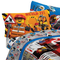 Lego Twin Bed Sheet Set City Build Bedding