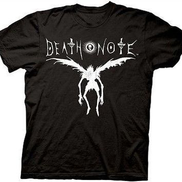 Death Note Ryuk Silhouette Anime Manga Cotton Adult T Shirt