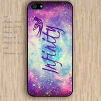 iPhone 5s 6 case colorful infinity rainbow phone case iphone case,ipod case,samsung galaxy case available plastic rubber case waterproof B299