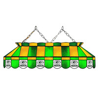 Green Bay Packers NFL 40 Inch Billiards Stained Glass Lamp