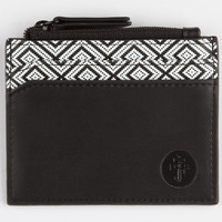 Focused Space Card Wallet Black/White One Size For Men 24851312501