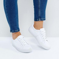 ASOS DEVLIN Wide Fit Lace Up Sneakers at asos.com