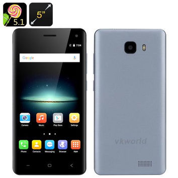VKWorld T5 Smartphone (Blue)