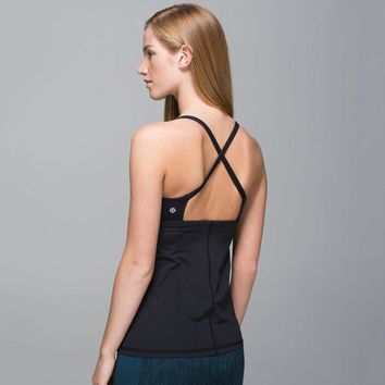 Lululemon Fashion Backless Yoga Sport Vest Tank Top-1