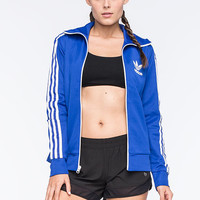 Adidas Originals Europa Womens Track Jacket Blue  In Sizes