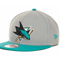 San Jose Sharks NHL Base Snapback 9FIFTY Cap