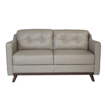 Monika Mid-Century Loveseat Medium Grey