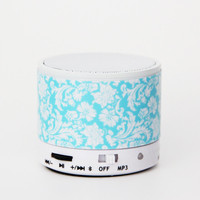 Vintage Damask Floral Wireless Bluetooth Mini Speaker