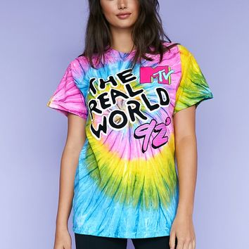 MTV The Real World Tie-Dye Tee