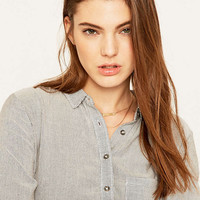 BDG York Button-Down Blouse - Urban Outfitters