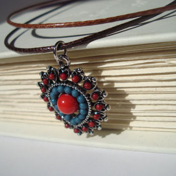 Anthropologie inspired pendant necklace