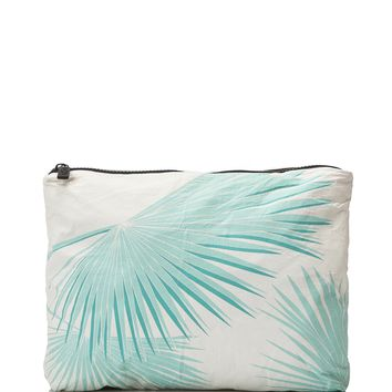 ALOHA Collection - Medium Tropical Fan Palms Pouch | Pool
