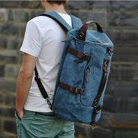 2017 famous brand luggage duffel zipper men backpack vintage bags canvas backpacks packing cubes