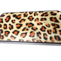 Animal Print Leopard Skin Cover Case for iPhone 4 - Choose your color FREE Shipping