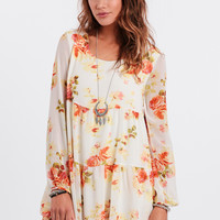 Sunny Daze Tiered Floral Dress